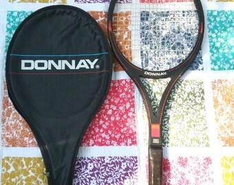 Donnay ITT 18 Vintage Tennis Racquet Made in Belguim Grip Light 3