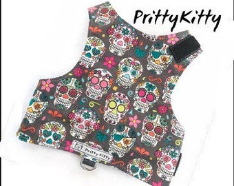 Pritty Kitty Cat Walking Harness Vest Jacket