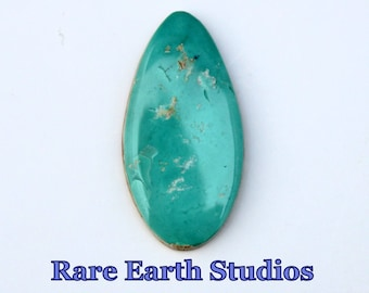 Rare Indian Mountain Turquoise Cabochon Natural Stone 17cts 60517004
