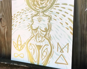 Gold Moon MA Goddess