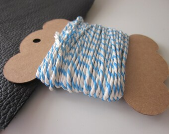 10m Blue and White Bakers Twine