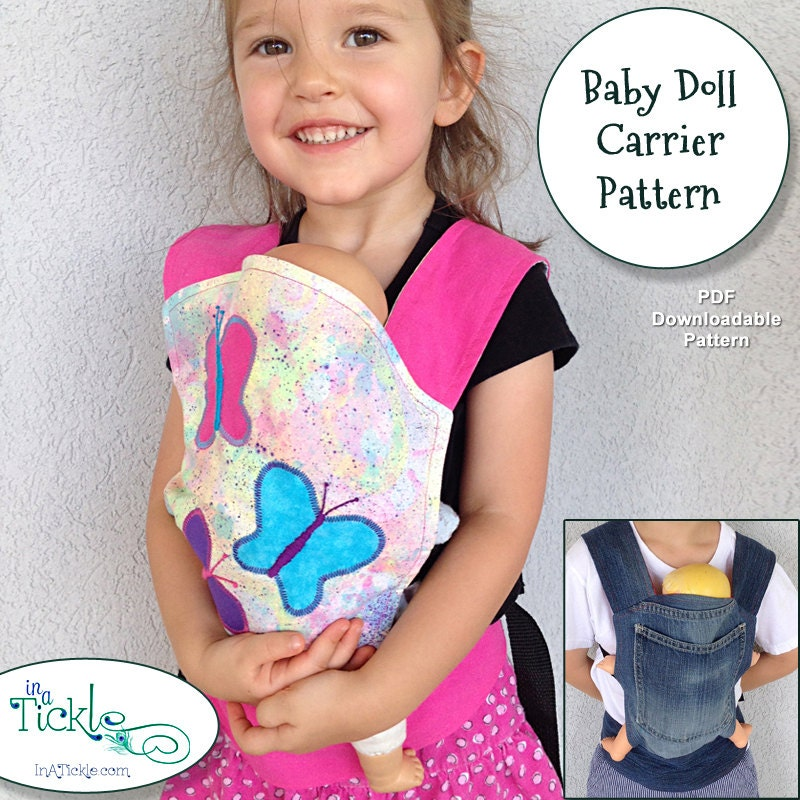 Baby Born Doll Carrier Sling.Baby Doll Carrier Pattern With Nylon ...