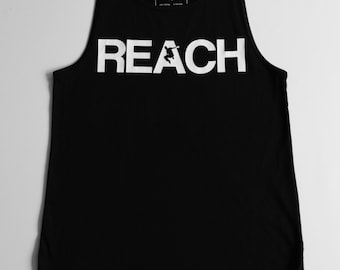 The REACH / ESCAPE Parkour Singlet - Black