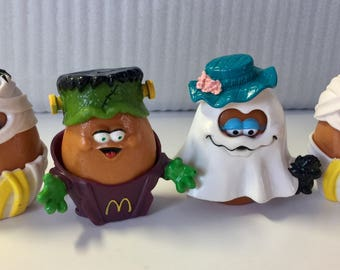 Vtg Mcdonalds, McNuggets, 90s McDonalds Toys, 90s McDonalds, Kids Meal Toy, Fast Food Toy, McDonalds Happy Meal, Happy Meal Toys