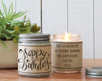 Happy Birthday Candle | Candle Birthday Gift | Candle Birthday Card | Send a Birthday Gift | Birthday Cake Scented Candle