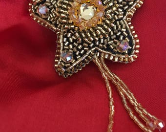 Handmade Star Brooch