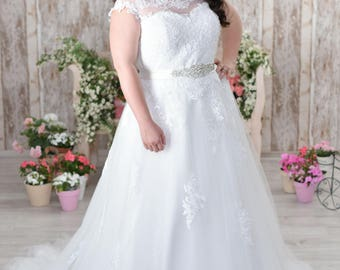 Plus size wedding dress plus size bridal gown