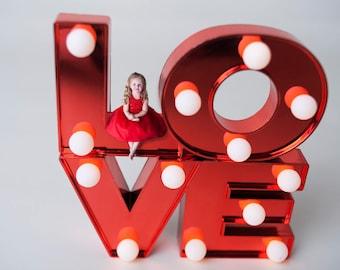 Valentine digital backdrop
