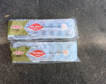 Round Ice Ball Trays - New Old Stock