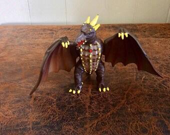 Godzilla Toy-Electronic Rodan Action Toy-Small Godzilla Action Figure-1994 Godzilla-Classic Godzilla-Rodan-Godzilla King of the Monsters