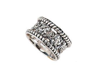 Ring Rosegarden Sterling Silver