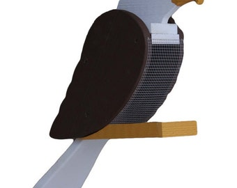 Amish Made Bald Eagle Bird Feeder-FREE SHIPPING