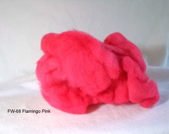 Felting Wool: FW-68 Flamingo Pink