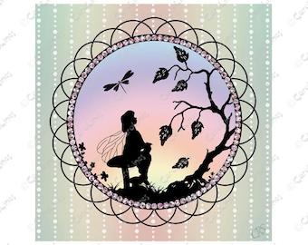 Fairy Silhouette 2
