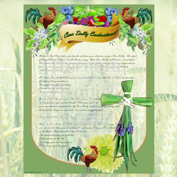Lammas Corn Dolly Spell