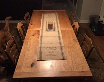 The Gauss - Cherry Farmstyle Dining Table