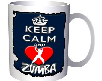 Keep Calm And Love Zombies 11oz Mug aa152
