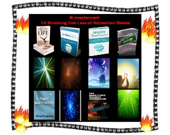 Law of Attraction 30 volume e-course 12 books on Cdrom