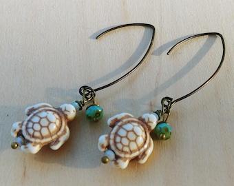 Sea Turtles Earrings 2
