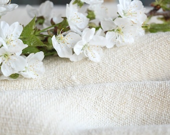 SP68 antique handloomed laundered 10.49 yards french 리넨 23.62inches wide upholstering curtain projects wedding PALE NATURAL , vintage,