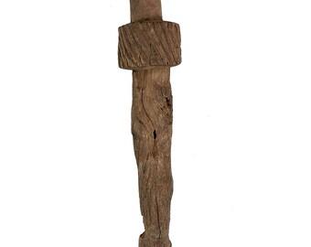 Dogon Figural Staff or Post Mali African Art 31 Inch 106221
