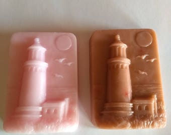 Lighthouse Soap! 100% Goats Milk Soap! Made With Essential Oil!