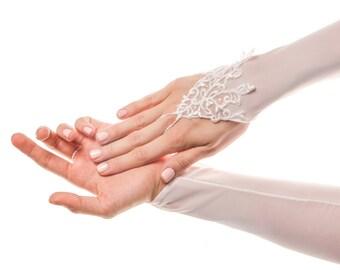 Long Wedding Gloves Long Bridal Gloves Lace Wedding Gloves White Wedding Gloves Fingerless Gloves Fingerless Bridal Gloves Lace Gloves Mesh
