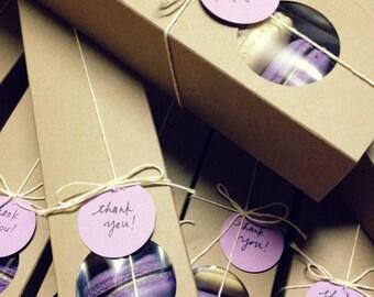 Eco Friendly Kraft Macaron boxes