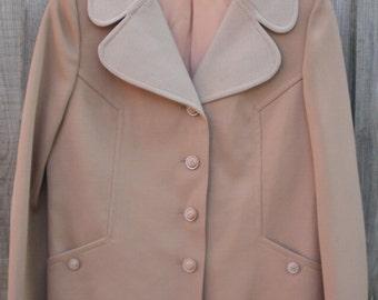 Vintage size 14 beige jacket