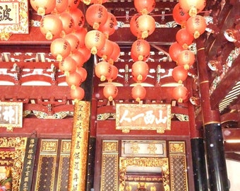 Singapore Photography - Red Lanterns - Asia - Asian Fine Art Photography