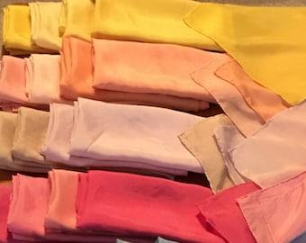 Plant Dyed Waldorf Play Silks