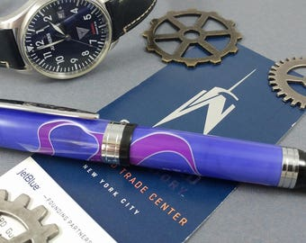 Custom El Grande Fountain Pen!!! A sleek, fun design that feels just right!