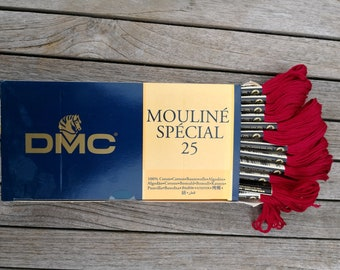 DMC - Thread to EMBROIDER - box of 12 moulinés special 25