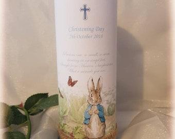 Personalised Christening/Baptism/Naming Day Candle