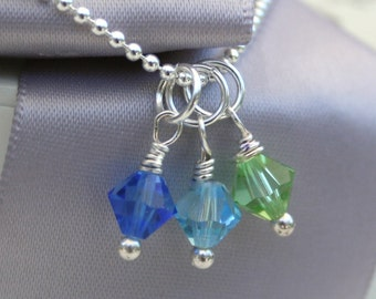 Add on Charm - Swarovski Elements Crystal or Pearl- with purchase of any item in this shop