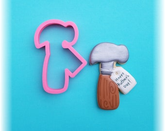 Hammer With Tag Father's Day Cookie Cutter