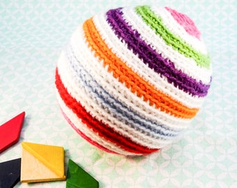 crochet//crochet ball/ball//baby/baby shower gift//retro style//go retro//maternity gift