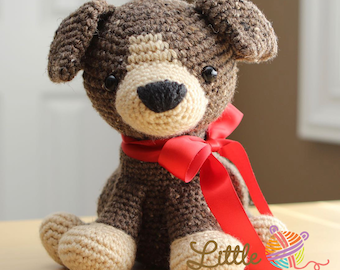 Amigurumi Crochet Pattern - Scout the Puppy
