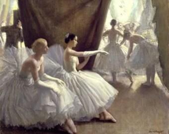 Ballet - Cross stitch pattern pdf format