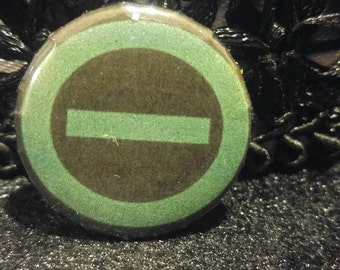 Type, O, Negative, pin, button, pinback, music, doom, rock, metal, goth, logo, green, man, peter, steele, accessory, 1 inch