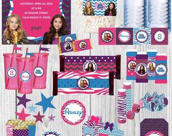 Girl Meets World Party Supplies, Girl Meets World Birthday Party, Disney Birthday Party, Disney Birthday Girl, Disney Birthday Invitation