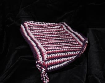 Two-Tone Crochet Potholder