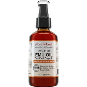 4oz Emu oil 100% Pure Organic Australian Emu Oil
