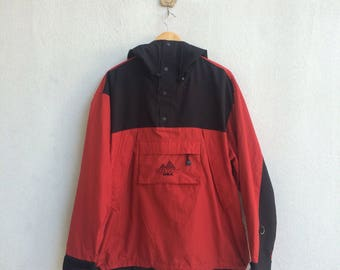 DKNY Halfzip Snap Button Embroidery Hoodie Jacket
