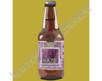 Purple Haze Print