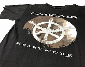 Carcass - Heartwork - Original Vintage 1993 t-shirt