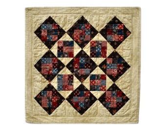 Hurricane Mills Quilt Pattern PDF Reproduction Traditional Style QRD393