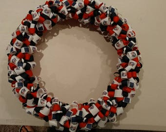 NHL wreath