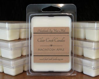 Six.. Hand Poured.. Soy Wax Melts...  Highly fragrant..set of six.. 3 oz. packages. Your choice of scents!