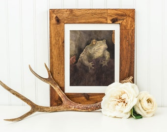 The Berkeley Toad - Archival Quality Mounted and Signed Fine Art Print